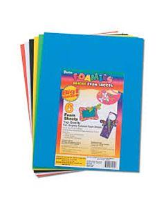 "Foamies® Sheets - 9"" x 12"" Basic Color Assortment 6 sheets"