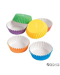 Rainbow Colored Disposable Craft Cups -  100/pkg