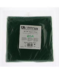 """Felt by the Yard - 36"""" x 36"""" - Kelly Green"""