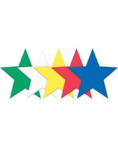 "Wonderfoam Stars Shapes  Large 6"" 10/PK"