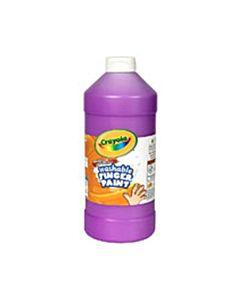 Crayola Washable Fingerpaint 32-Ounce Bottle Violet