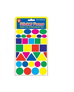 Hygloss Geometric Shapes Stickers 25 sheets
