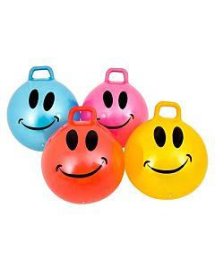 """34"""" Hopper Ball Jumping Hopping Hippity Hop Ball Smiley Face"""