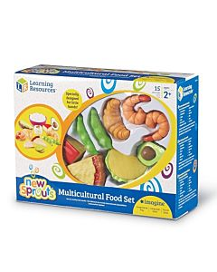 New Sprouts Multicultural Food Set, 15 Pieces