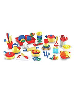 Learning Resources Kitchen 73 piece set