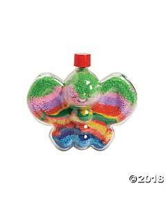Butterfly Sand Art Bottles - 12 per package