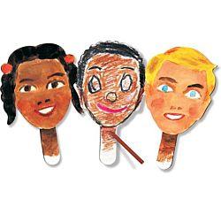 Roylco Paddle Puppets , R22045