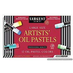 Sargent Art 24-Count Large Oil Pastels 22-2015