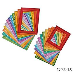 Bright Paper Frames - Assorted Sizes - 24 per package
