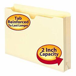 File Jacket, Reinforced Tab, 2