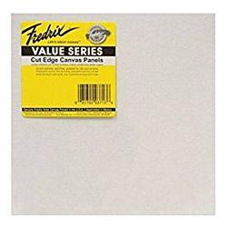 Fredrix Value Series Cut Edge Canvas Panels 9