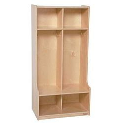 Wood Designs, Children 2 Section Locker, WD52400