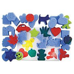 Roylco Super Value Favorite Shapes Sponges R5500
