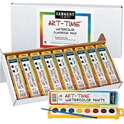 Sargent Art 66-8001 36-Count Art-Time  Watercolor, Best Buy Assortment