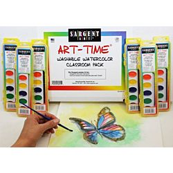 Sargent Art 66-8231 36-Count Art-Time Washable Watercolor, Best Buy Assortment