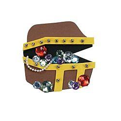 Foam Treasure Chest Magnet Craft Kit
